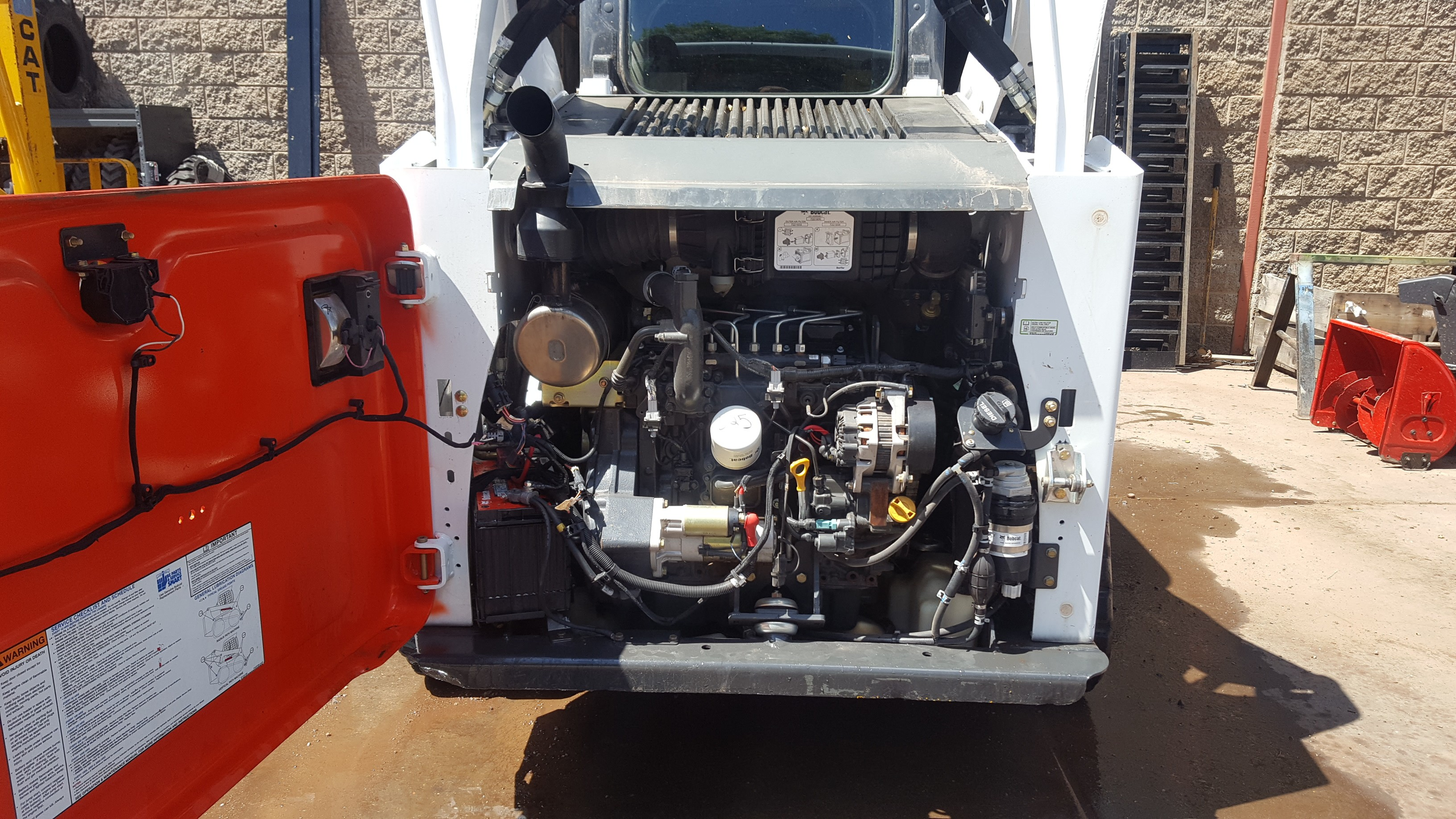 Used 2015 Bobcat T590 (Roller Suspension Option) in