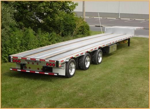 New, 2020, Transcraft, Tridem Aluminum/steel Combo Drop Frame Trailer, Truck Trailers