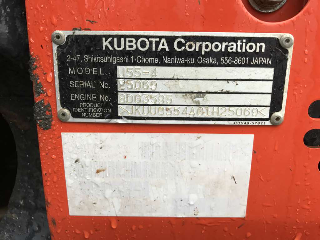 Used 2013 Kubota U55-4 Excavator in Millstone Township, NJ