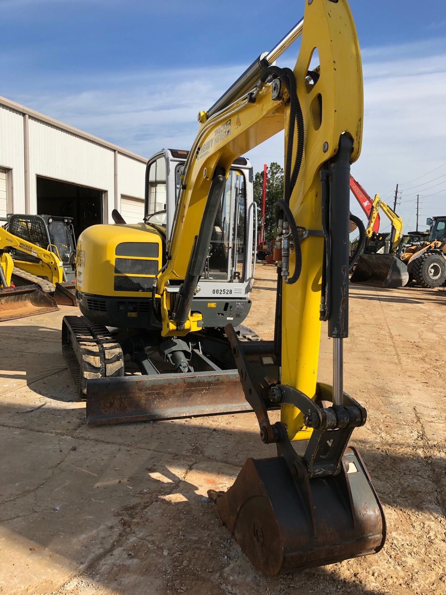 Used, 2016, Wacker Neuson, EZ53, Excavators