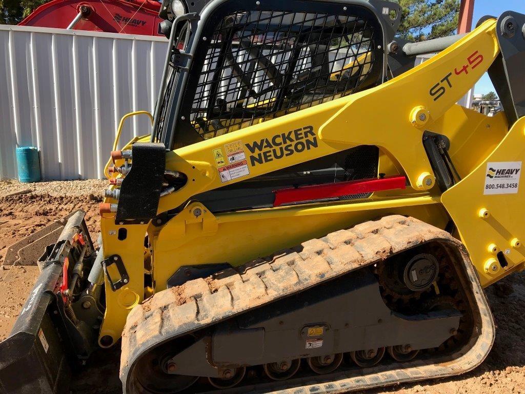 Used, 2015, Wacker Neuson, ST45, Skid Steers