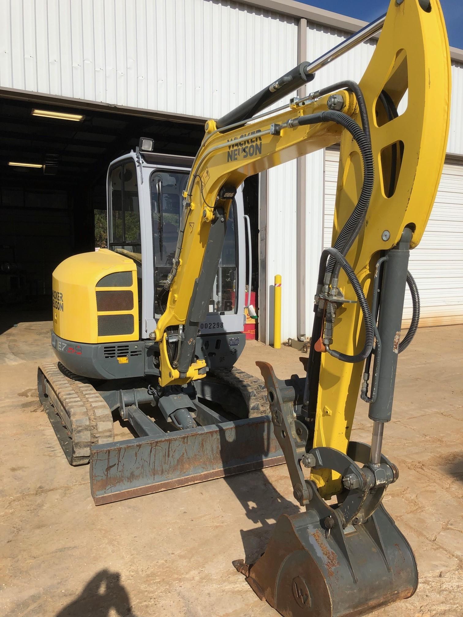 Used, 2015, Wacker Neuson, EZ38, Excavators