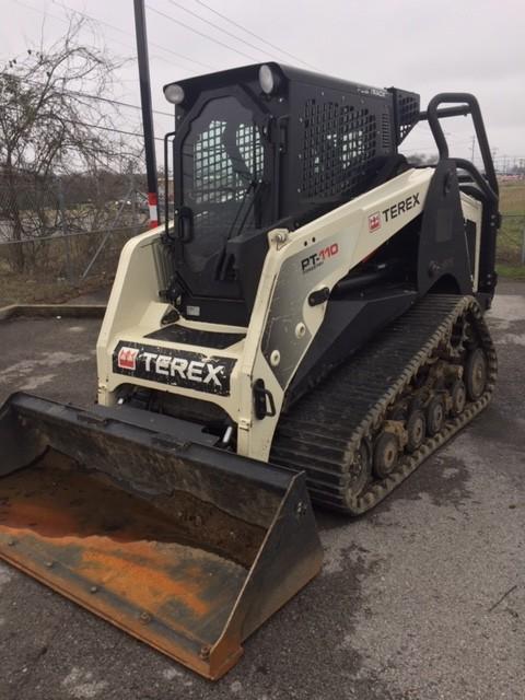 Used, 2014, Terex, PT-110 Forestry, Skid Steers