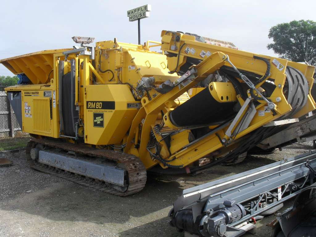 Used, 2009, Rubble Master, RM80, Crushers