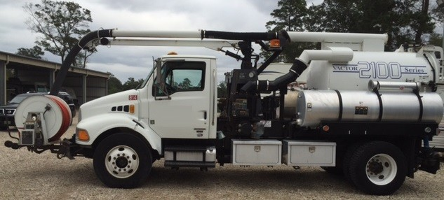 Used, 2007, Vactor, 2103 Combination Sewer Cleaner, Tank & Vacuum Bodies