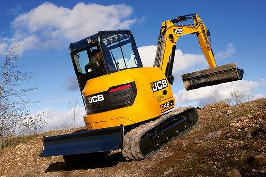 2019, JCB, 48Z-1, Excavators
