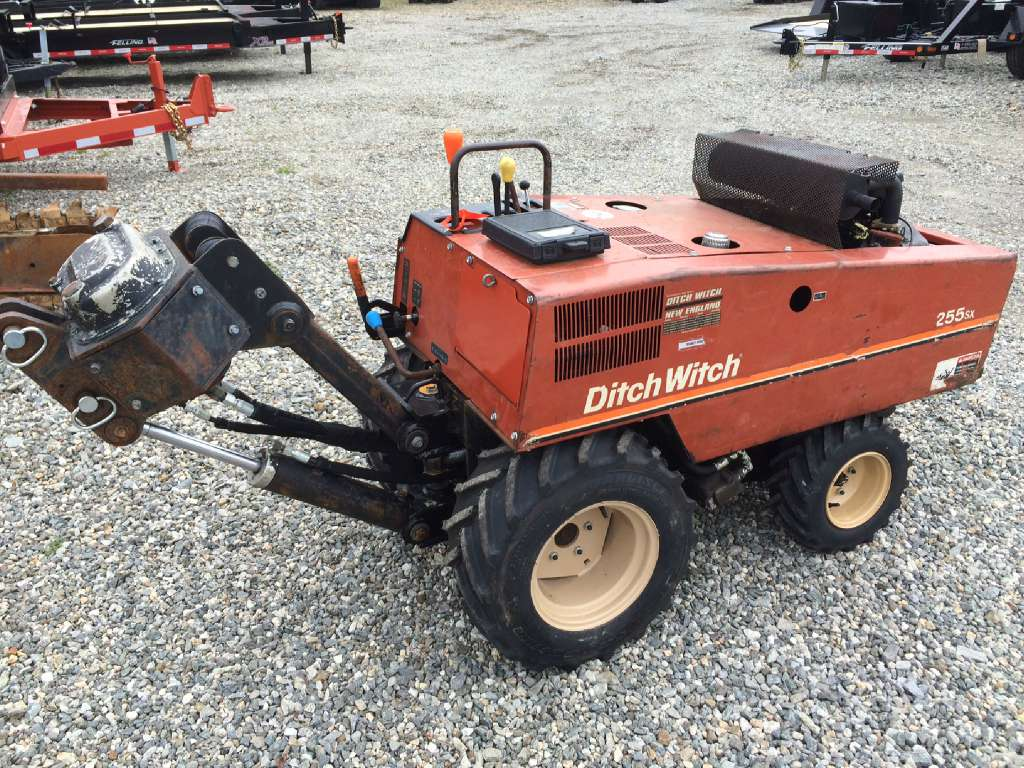 used 2001 ditch witch 255sx in shrewsbury ma rh jescoditchwitch us Ditch  Witch 860 Parts Manual Ditch Witch 860 Parts Manual