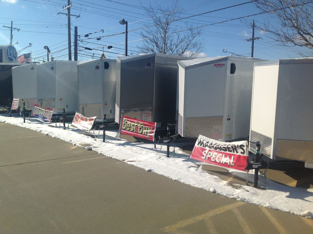 New 2019 US Cargo ENCLOSED CARGO TRAILERS--ALL SIZES