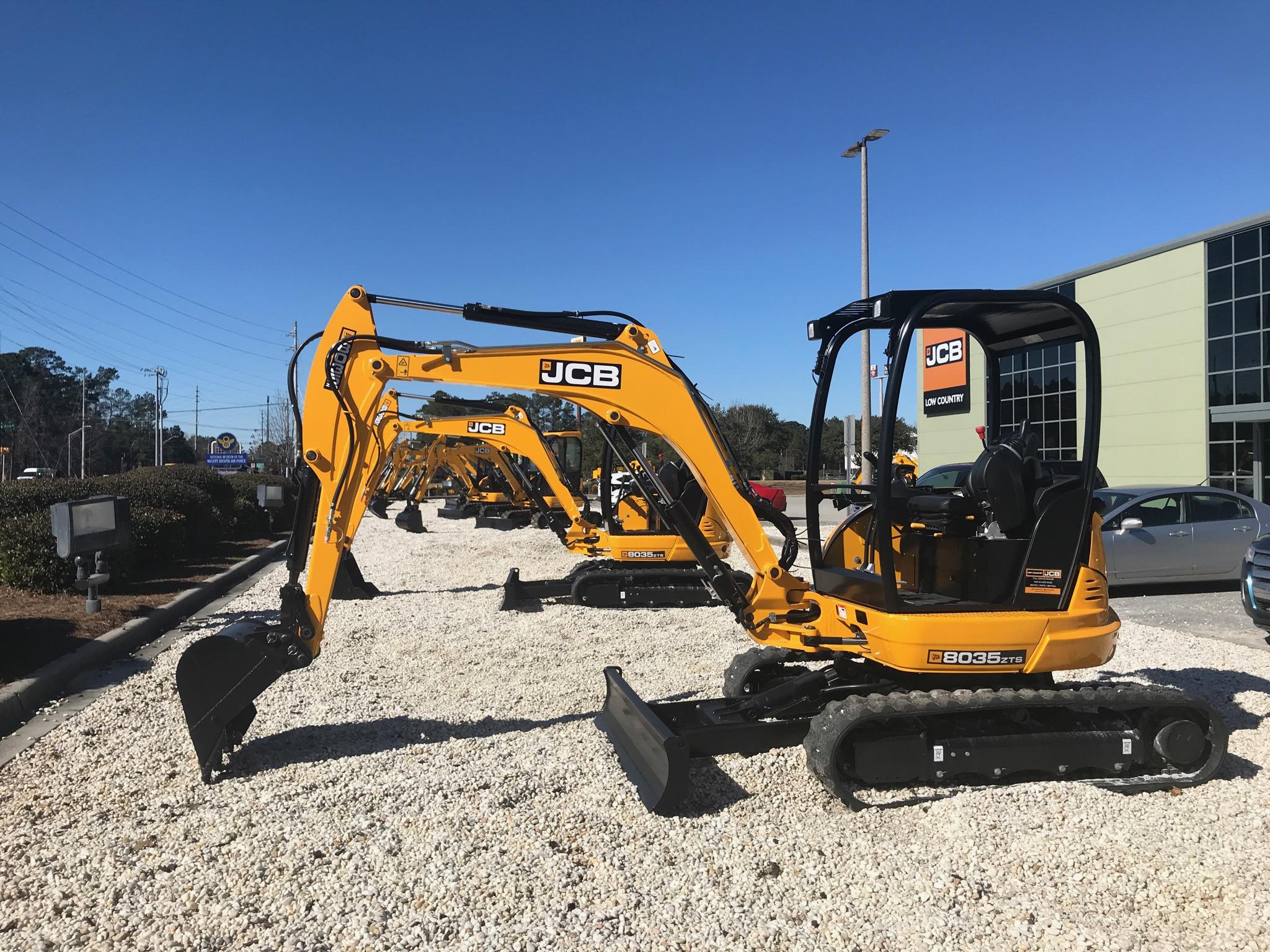 New 2017 JCB 8035 ZTS in Pooler, GA