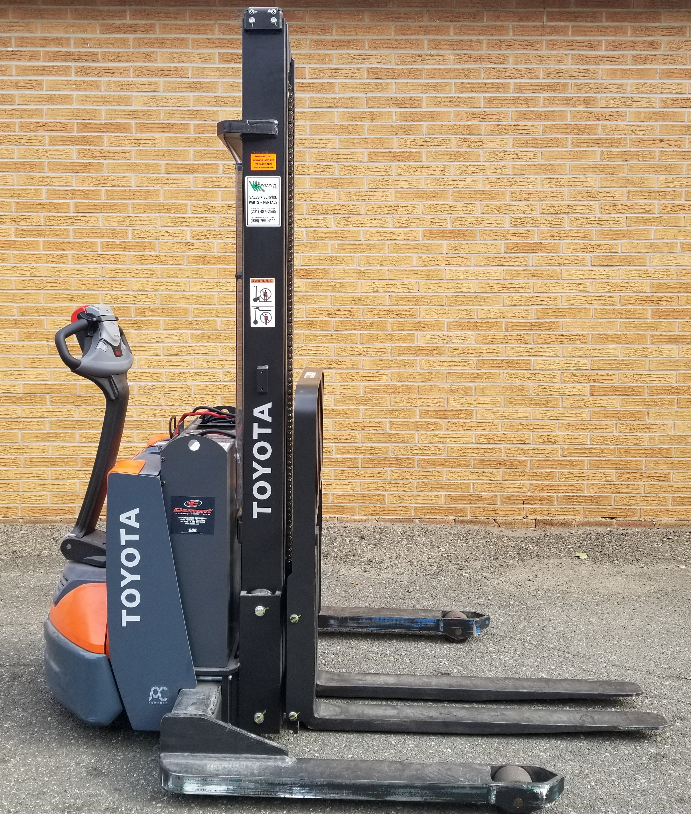 Used, 2019, Toyota Industrial Equipment, 8BWS13, Forklifts / Lift Trucks