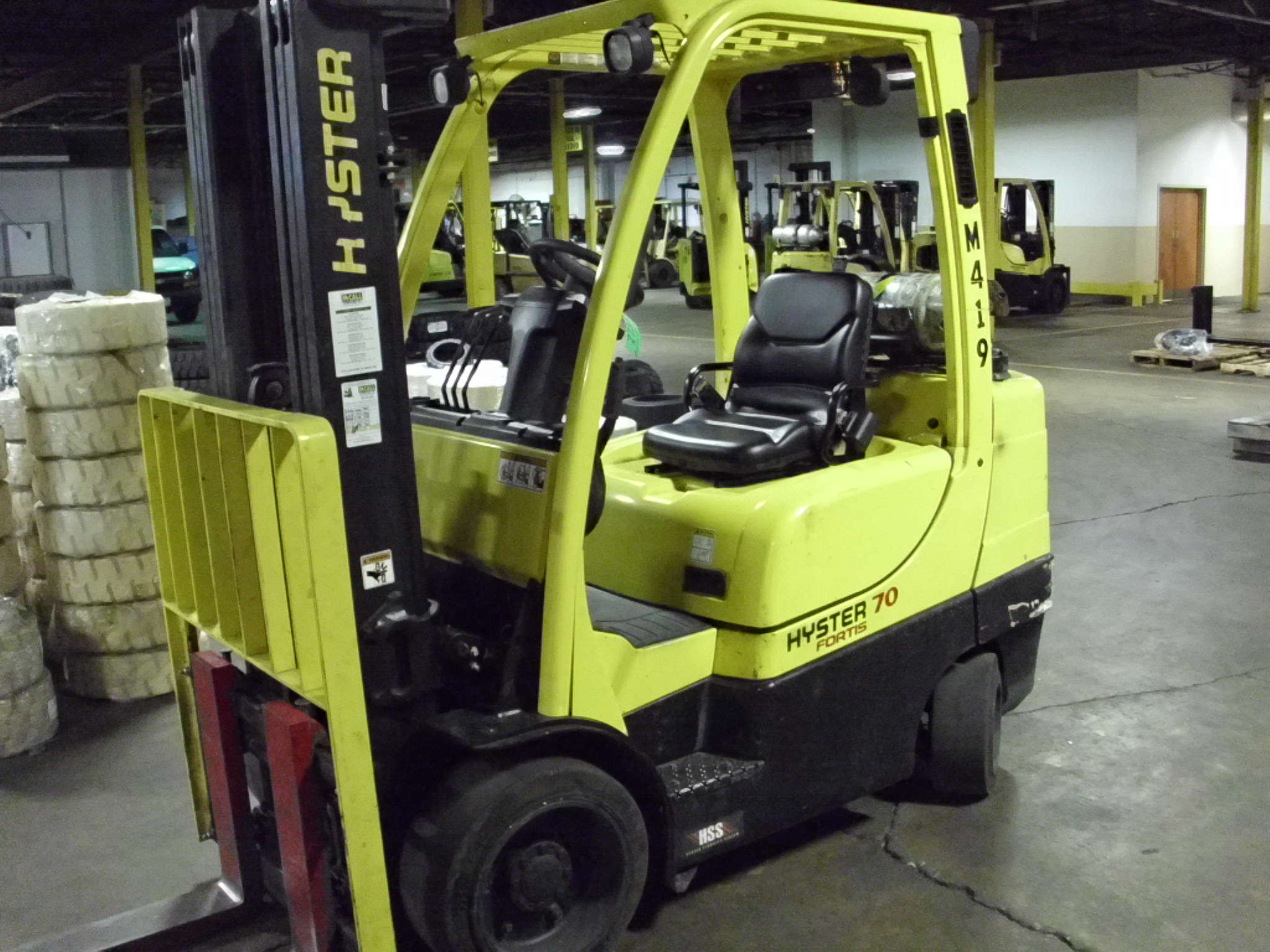 Forklift training in dc va md mccall handling company 2012 hyster s70ft xflitez Image collections