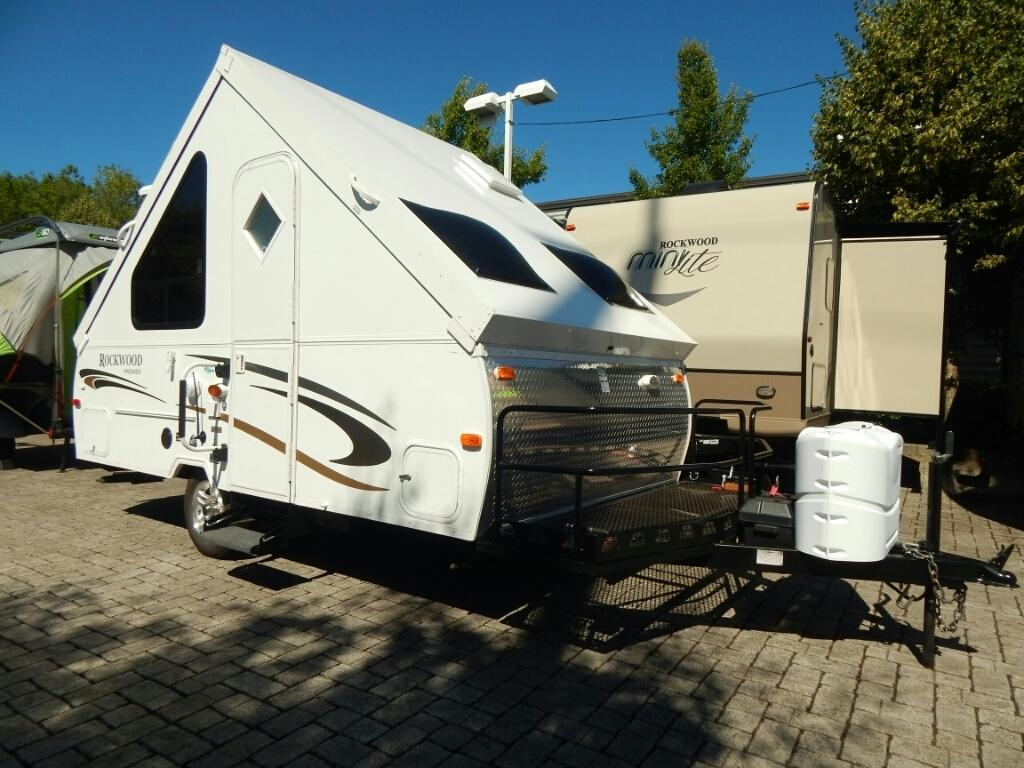 Used 2013 Forest River Rockwood Premier A122bh In