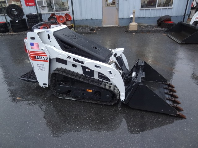 Used, 2007, Bobcat, MT52 Mini Track Loader, New Tracks, 36