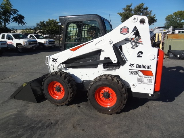 Used, 2019, Bobcat, S650 Skid-Steer Loader, A91 Package, SJC Controls, 0% Financing or $2300 Cash Rebate Available, Only 85 Hours, Skid Steers