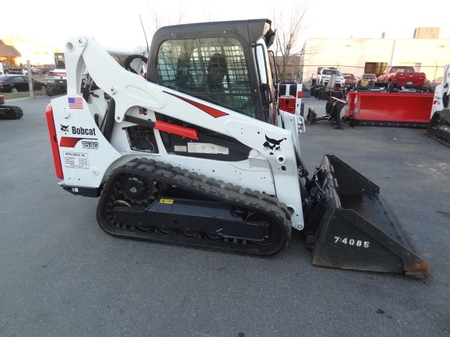 Used, 2016, Bobcat, T590 Track Loader, New Tracks, Heat&AC, Power Bob-Tach, Keyless Start, Selectable Joystick Controls, Only 976 Hours, Excellent Condition, Skid Steers