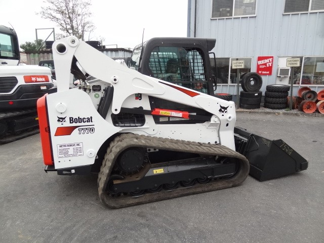 Used, 2016, Bobcat, T770 Track Loader, A71 Package, Enclosed Cab Heat & AC, Power Bob-Tach, Keyless Start, Only 1307 Hours, Excellent Condition, Skid Steers