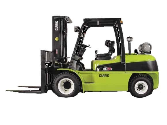 New, 2019, CLARK, C55, Forklifts / Lift Trucks