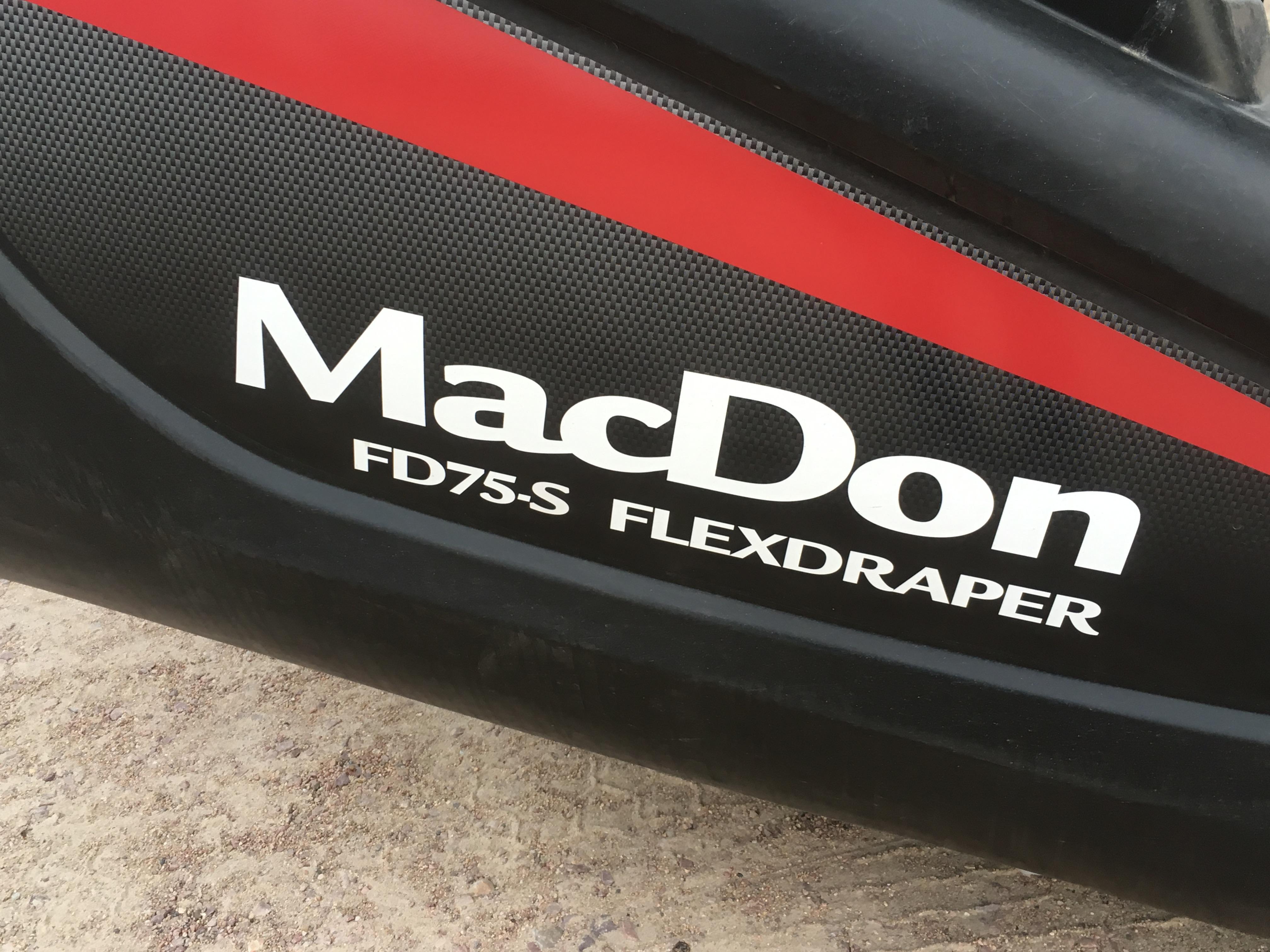2016 MacDon FD75 40 ft.