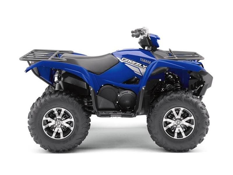 2018 Yamaha Grizzly EPS Steel Blue