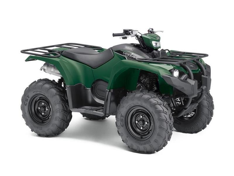 2018 Yamaha Kodiak 450 EPS Hunter Green