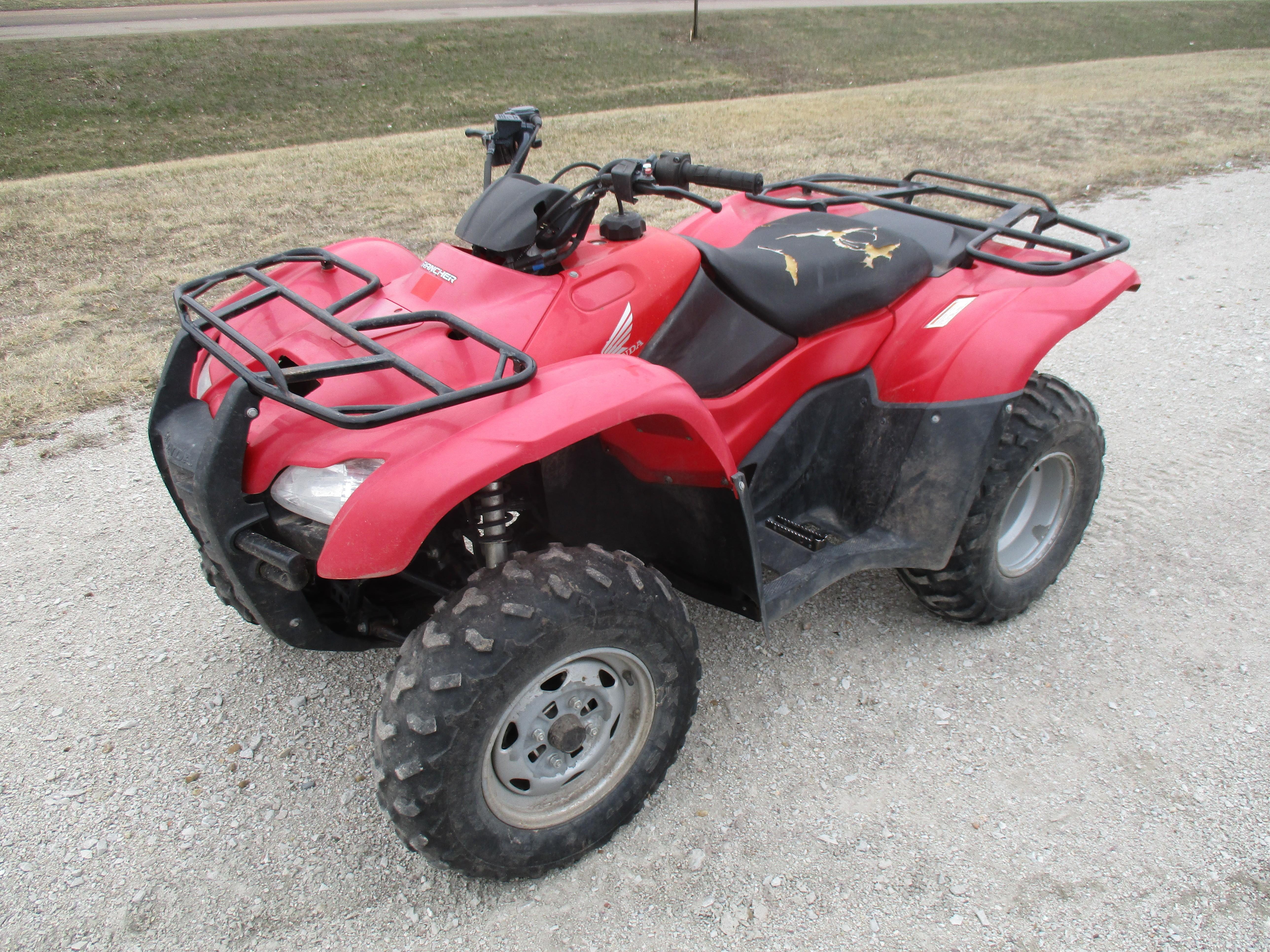 2010 Honda Rancher 420