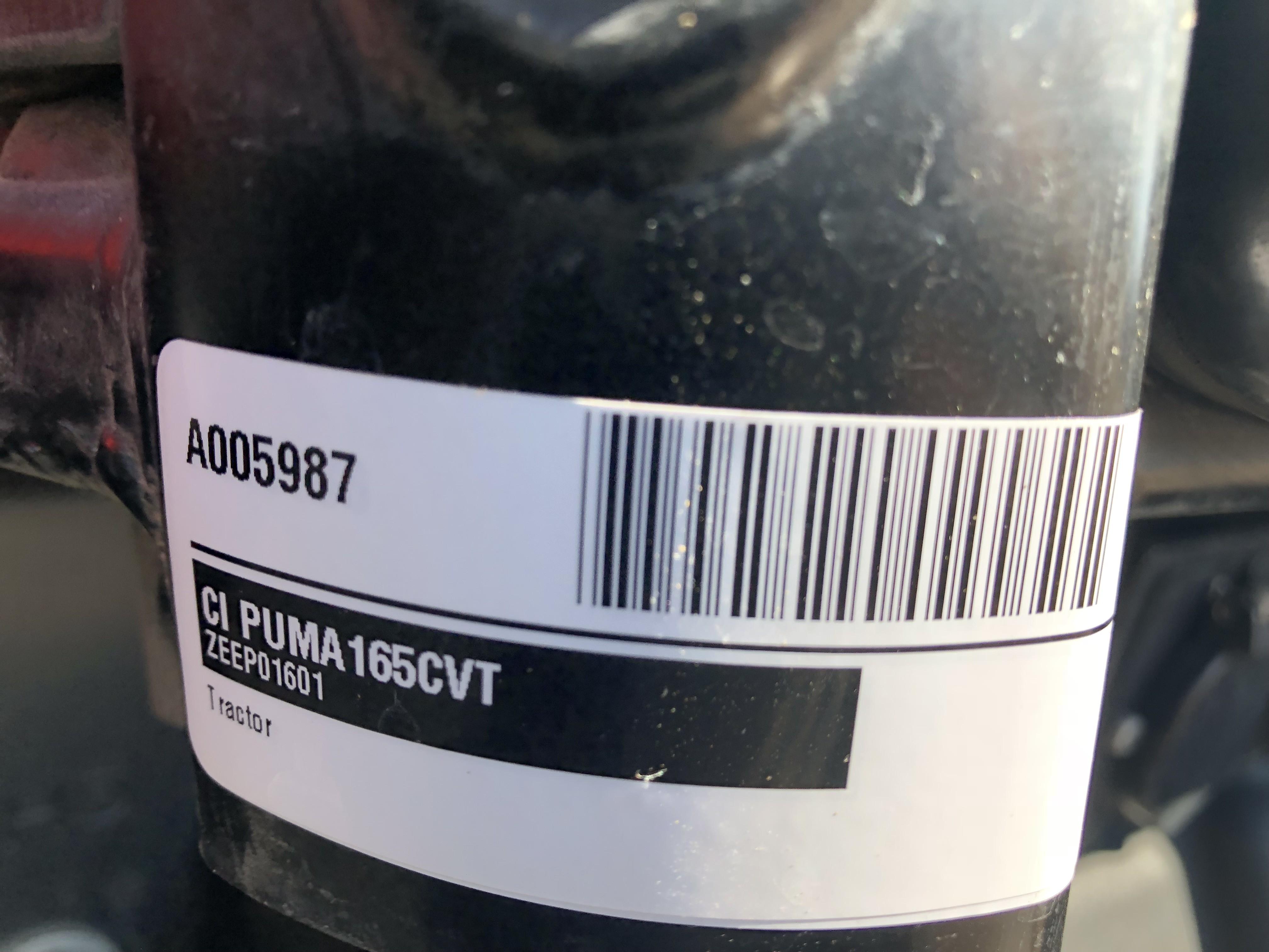 2014 Case IH Puma® 165