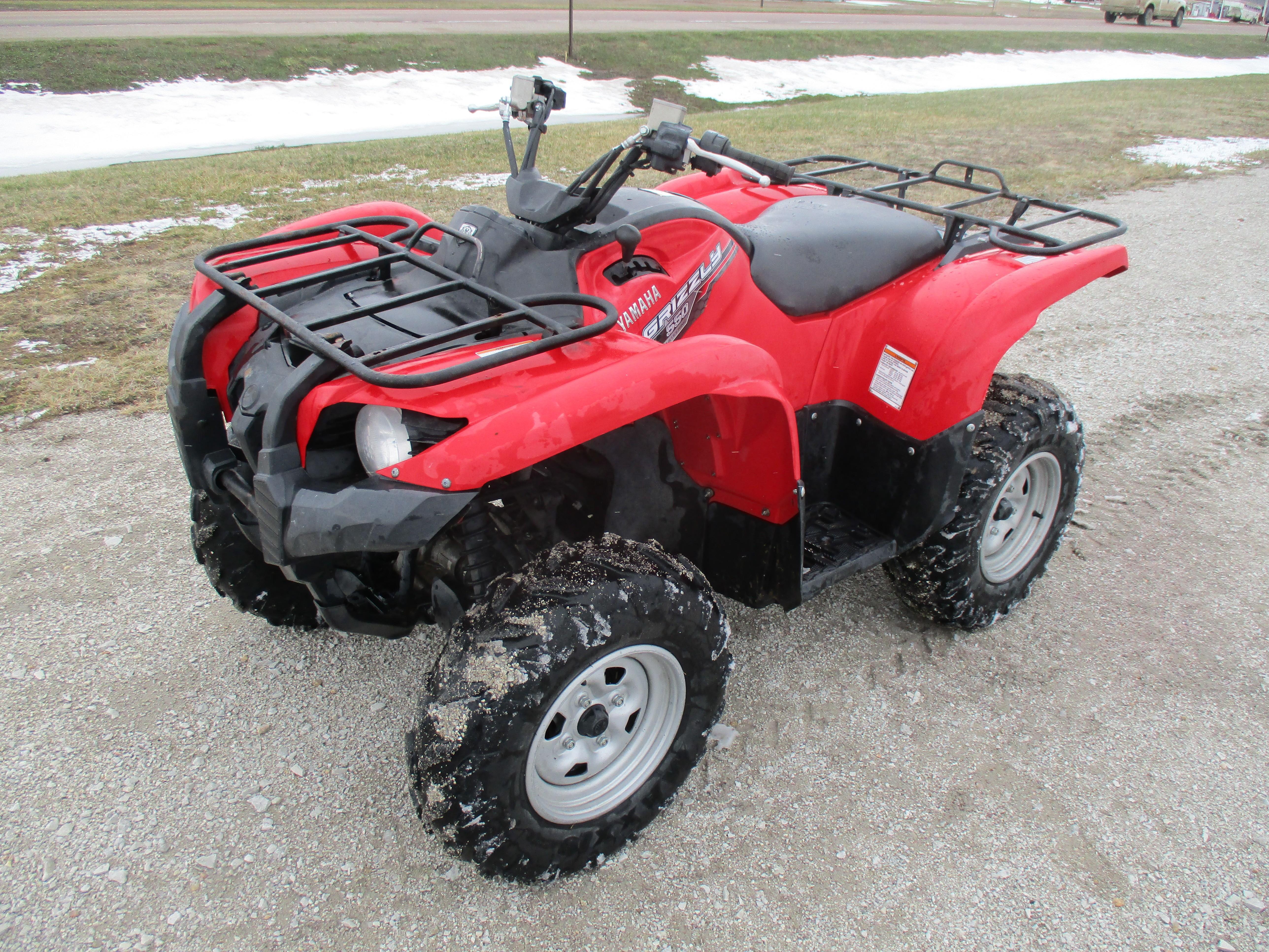2014 Yamaha Grizzly 700 4x4 EPS