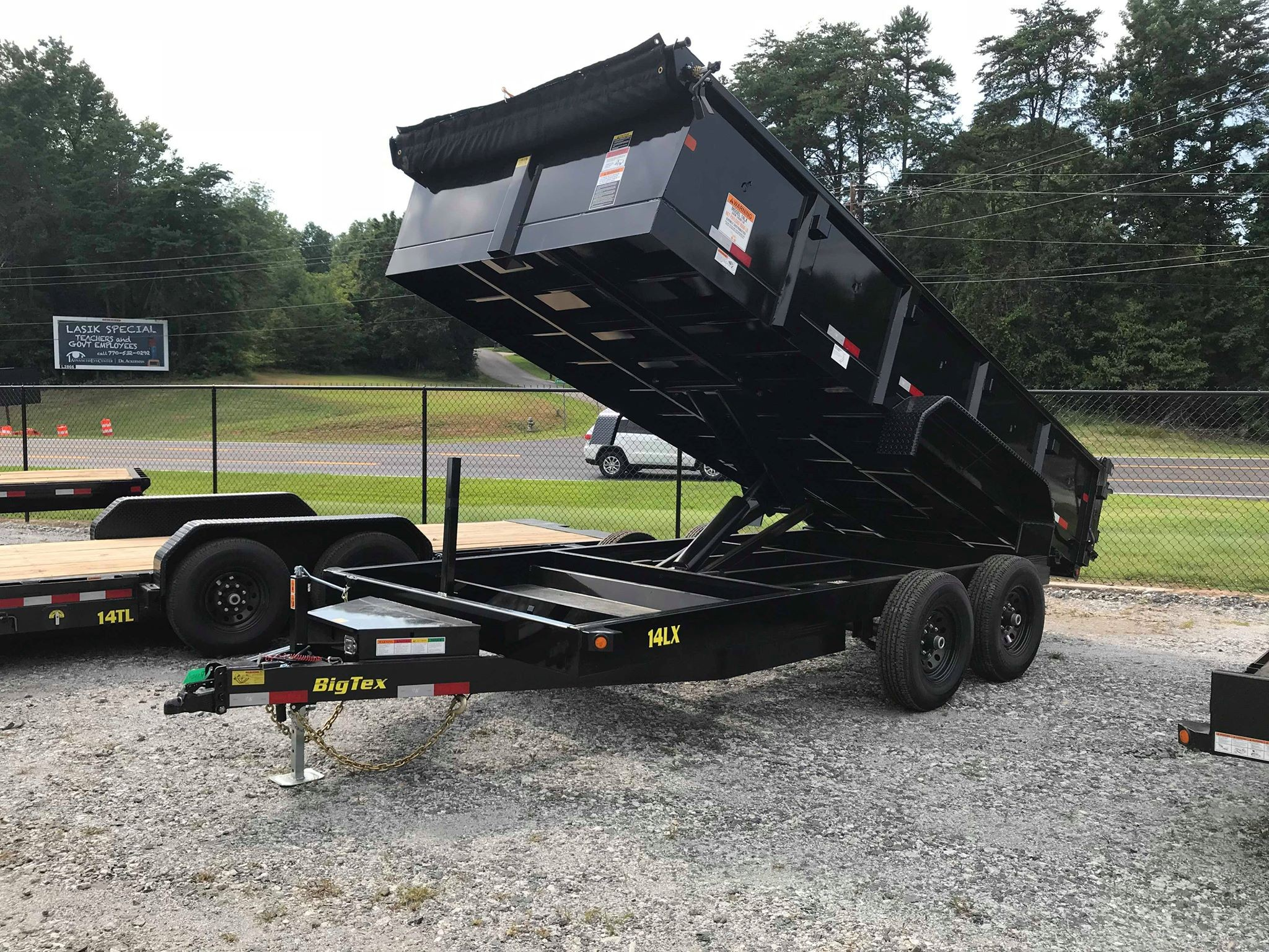 Georgia Trailers For Sale Repair Car Haulers Horse Cargo Trailer Used Gooseneck Wiring Harness On Boxes 2019 Big Tex 14lx 14
