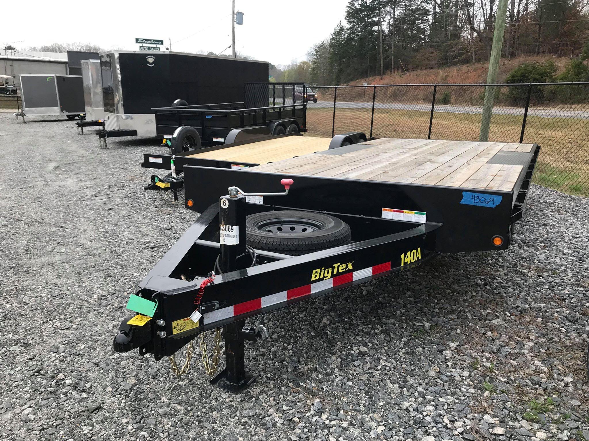 New 2019 Big Tex Trailers 14OA-18 in Gainesville, GA