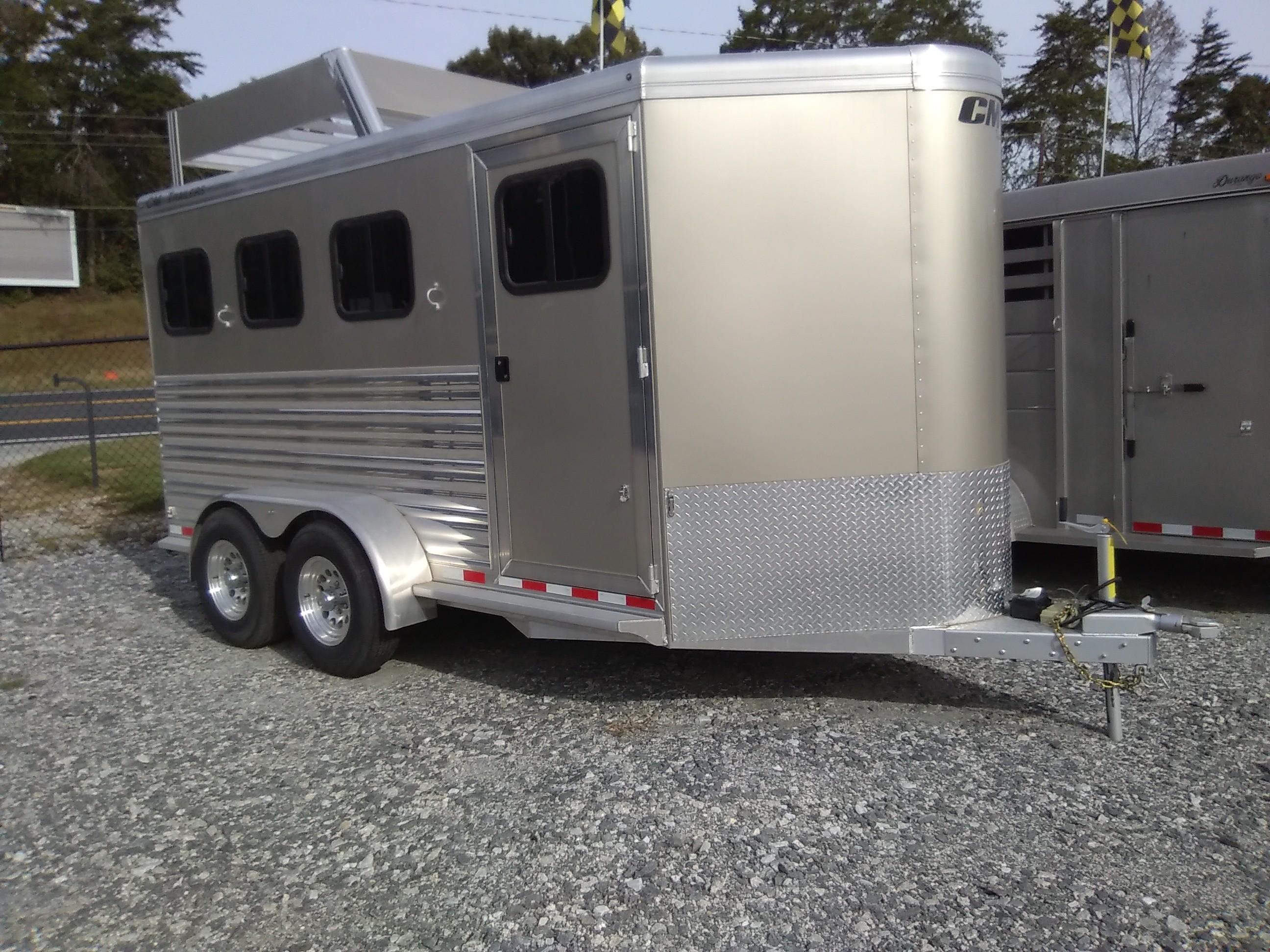 Georgia Trailers For Sale Repair Car Haulers Horse Cargo Trailer Skid Steer On Utility Wiring And Lights 2018 Cm 16 Renegade 3