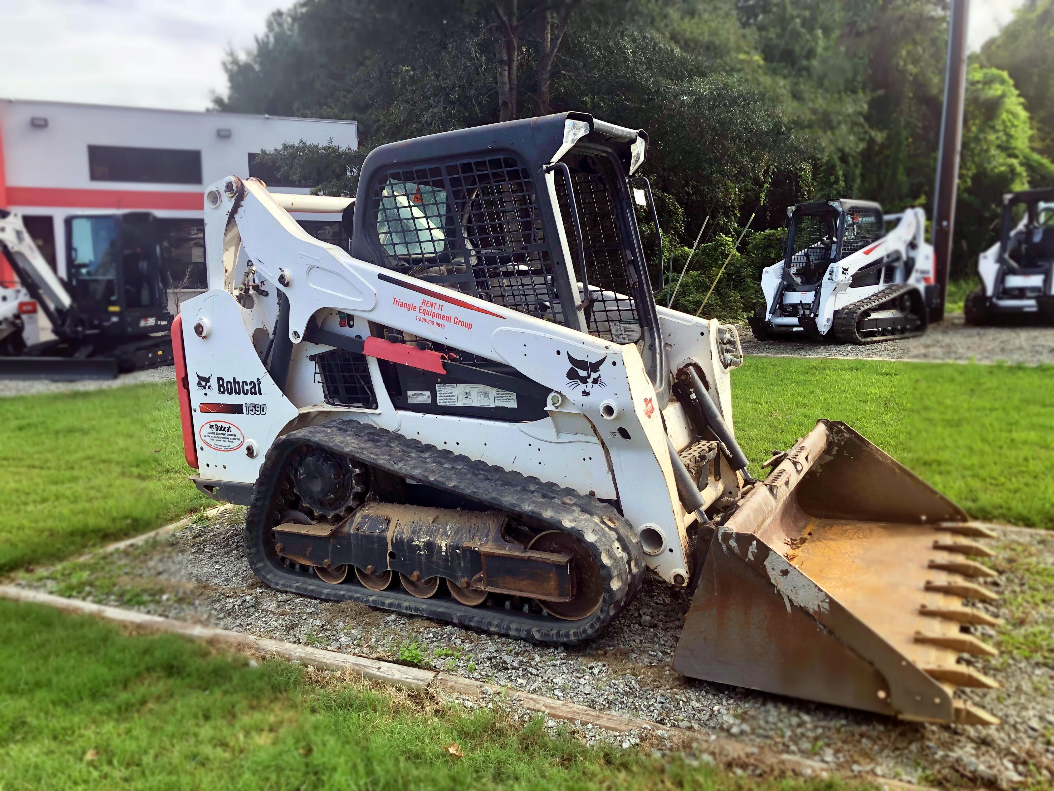 Rent this 2016 Bobcat T590 in Morrisville, NC