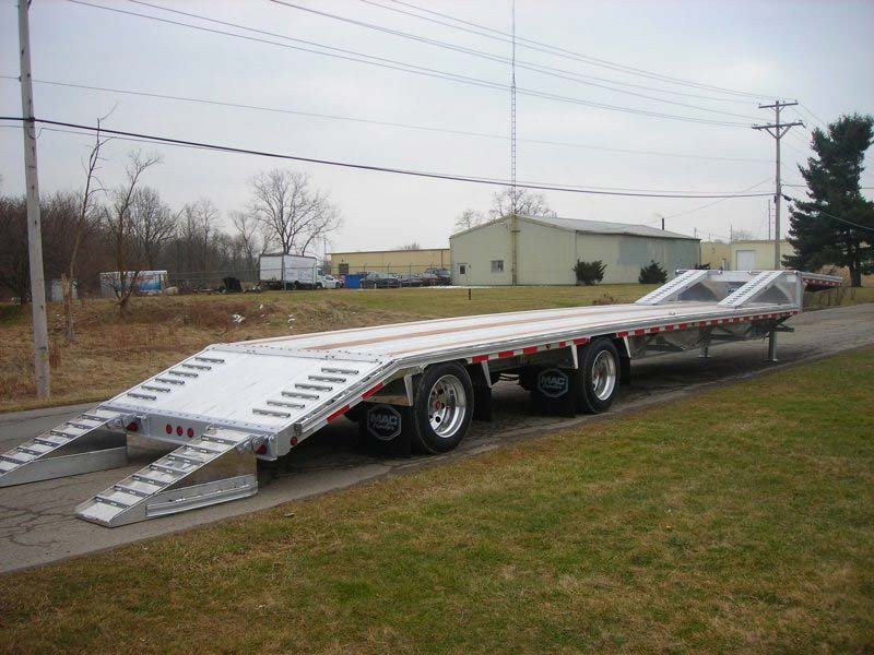 Step Deck Trailer >> Mac Trailer Showroom