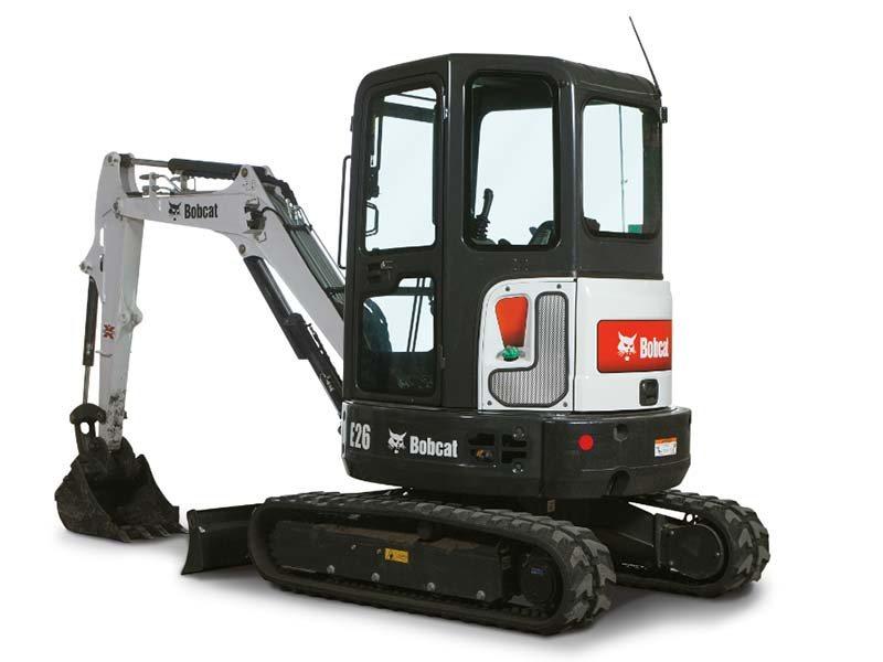 Used, 2016, Bobcat, E26 T4 Long Arm, Excavators