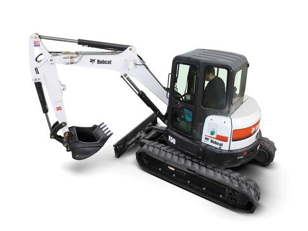 Used, 2015, Bobcat, E50 T4 Long Arm, Excavators