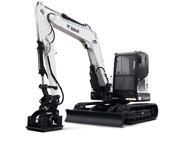 Used, 2016, Bobcat, E85 T4, Excavators