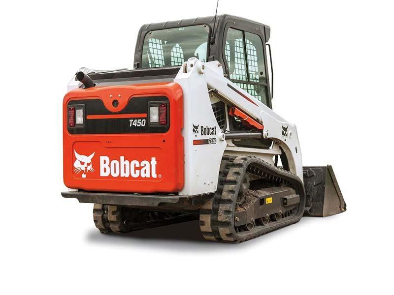 Used, 2017, Bobcat, T450, Loaders