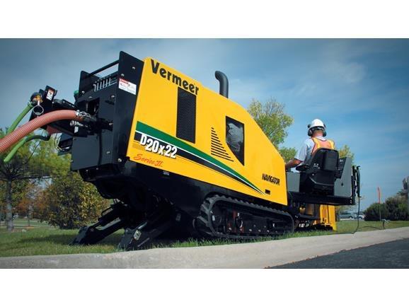 2015, Vermeer, D20x22 Series II Tier 4i (Stage IIIB), Boring / Drilling Machines
