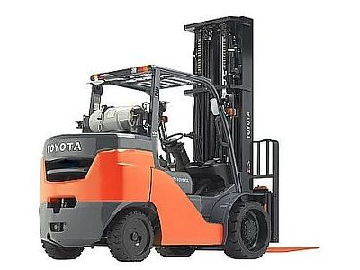 Used, 2015, Toyota Industrial Equipment, 8FGC45U, Forklifts / Lift Trucks