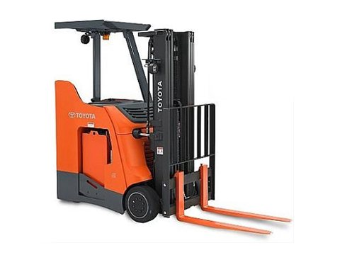 2015, Toyota Industrial Equipment, 8BNCU18 / 16.5, Forklifts / Lift Trucks, Used Stand up forklift, Used forklift, Used Toyota forklift