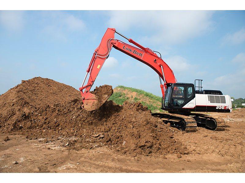 2015, Link-Belt Excavators (LBX), 350 X4, Excavators