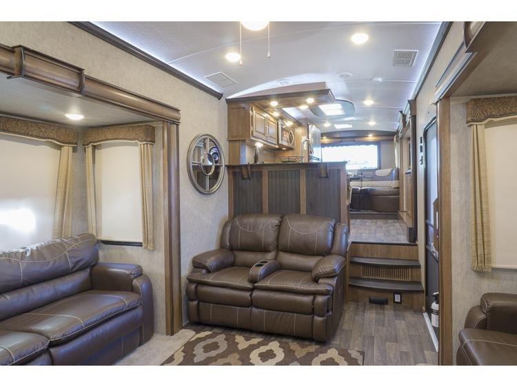 New, 2016, Keystone, Montana 3820FK, Fifth Wheels