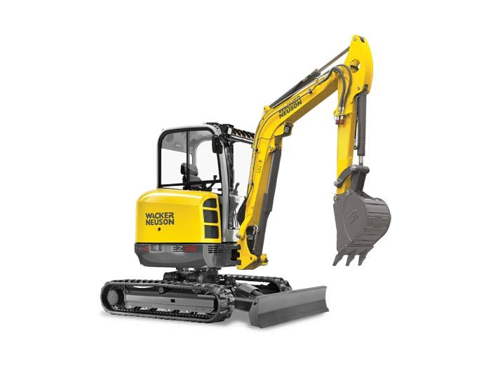 New, 2017, Wacker Neuson, EZ38, Excavators