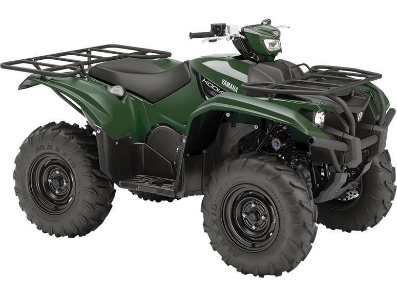 2018 Yamaha Kodiak 700 EPS Green