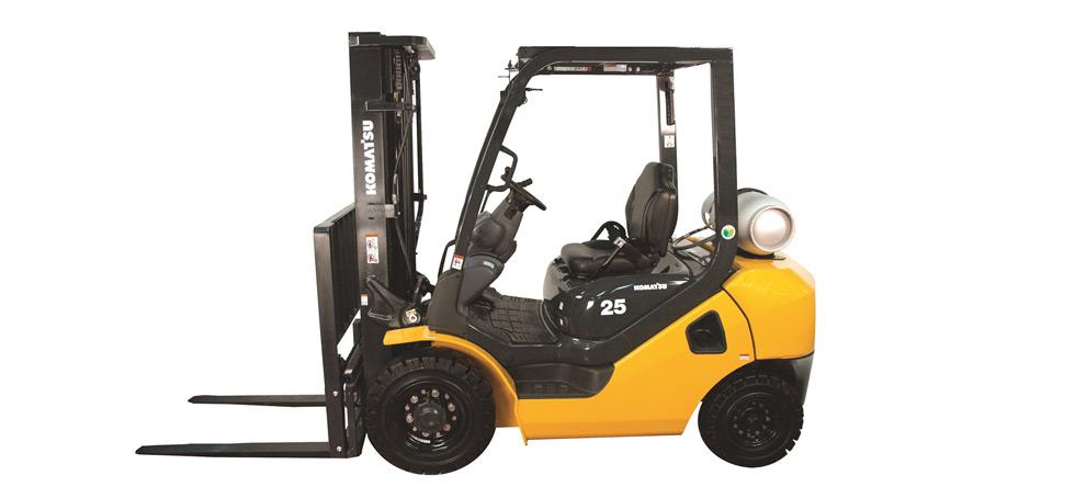 Used, 2019, Komatsu, FG25T-16, Forklifts / Lift Trucks