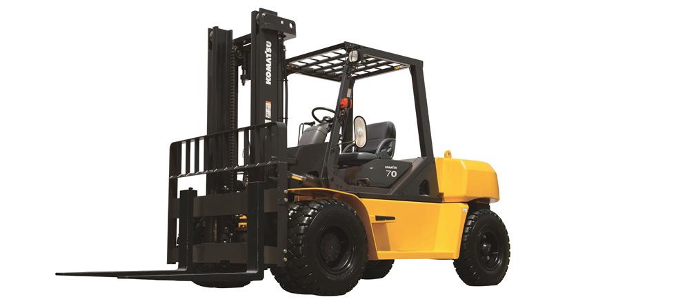 2019, Komatsu, FD70T-10, Forklifts / Lift Trucks