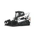 Used, 2017, Bobcat, T770 Roller Suspension Option, Loaders