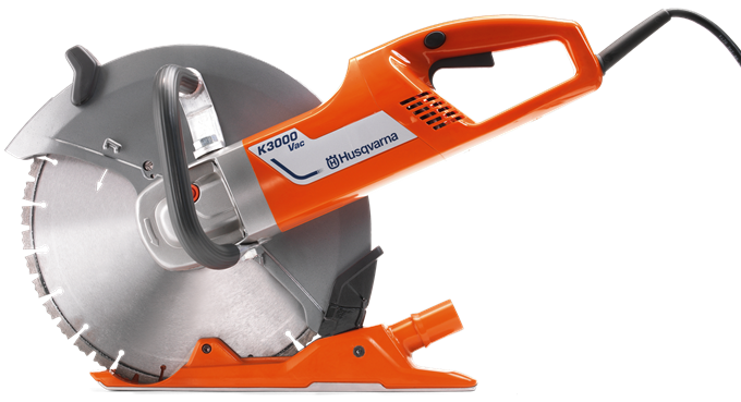 New, 2019, Husqvarna Construction, K 3000 Vac, Industrial Saws
