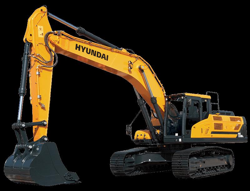 2017, Hyundai, HX330L, Excavators