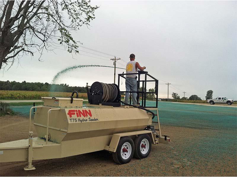 New, 2019, Finn, T75 HydroSeeder®, Seeder Implements