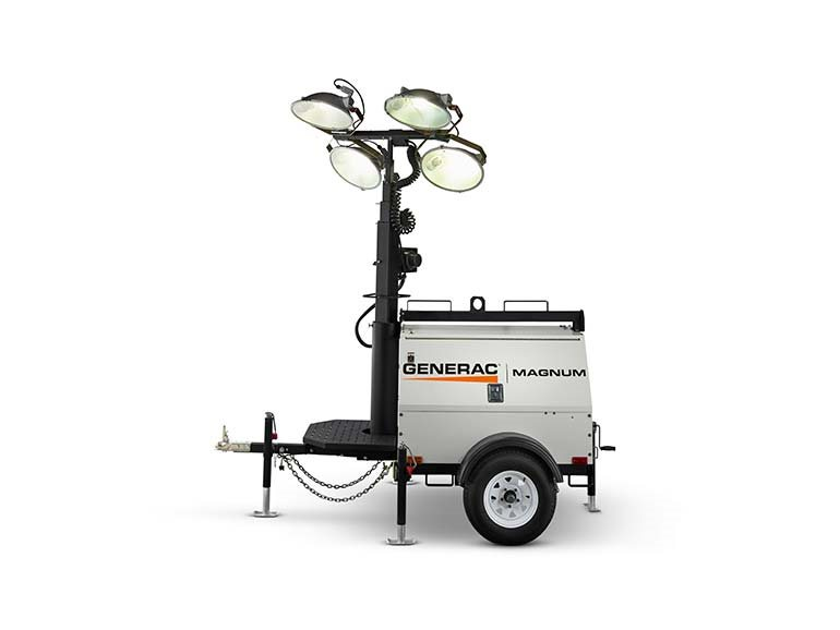 2019, Generac, MLT4150MV Vertical Mast, Light Towers